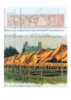 Javacheff CHRISTO | The Gates (f) | Lithograph available for sale on www.kunzt.gallery