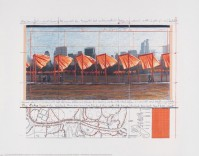 Javacheff CHRISTO | The Gates (h) | Lithograph available for sale on www.kunzt.gallery