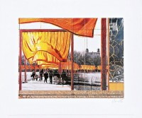 Javacheff CHRISTO | The Gates (k) | Lithograph available for sale on www.kunzt.gallery