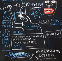 Jean-Michel Basquiat | Rinso | Screen-print available for sale on www.kunzt.gallery