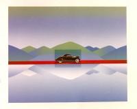 Jean-Michel FOLON | Je vous ecris de California | Silkscreen available for sale on www.kunzt.gallery