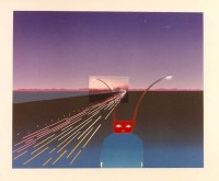Jean-Michel FOLON | Je vous ecris de Mt. Fuji | Silkscreen available for sale on www.kunzt.gallery
