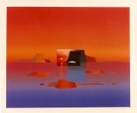 Jean-Michel FOLON | Je vous ecris des cyclades | Silkscreen available for sale on www.kunzt.gallery