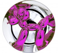 Jeff Koons | Balloon Dog (Magenta) | Porcelain available for sale on www.kunzt.gallery