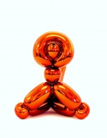 Jeff KOONS | Balloon Monkey (Orange) | Porcelain available for sale on www.kunzt.gallery
