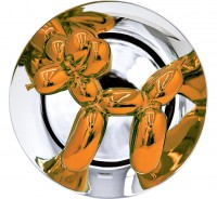 Jeff Koons | Jeff Koons - Balloon Dog (Orange) | Porcelain available for sale on www.kunzt.gallery