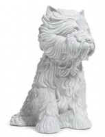 Jeff KOONS | Puppy (vase in the form of West Highland Terrier) | Porcelain available for sale on www.kunzt.gallery