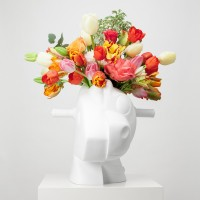 Jeff KOONS | Split-Rocker (Vase) | Porcelain available for sale on www.kunzt.gallery