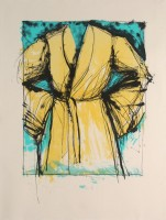 Jim DINE | A robe | Lithograph available for sale on www.kunzt.gallery