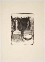 Jim DINE | Brush Drawn on Stones #5 | Lithograph available for sale on www.kunzt.gallery