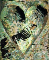 Jim DINE | Called by Sake | Woodcut available for sale on www.kunzt.gallery