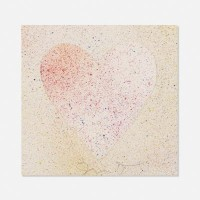 Jim DINE | Confetti Heart | Lithograph available for sale on www.kunzt.gallery