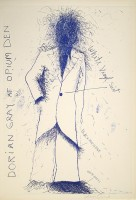 Jim DINE | Dorian Gray, Opium | Lithograph available for sale on www.kunzt.gallery