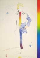 Jim DINE | Dorian Gray, Rainbow | Lithograph available for sale on www.kunzt.gallery