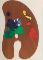 Jim DINE | Palette IV | Mixed Media available for sale on www.kunzt.gallery
