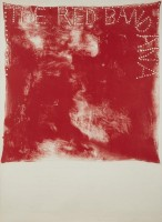 Jim DINE | Red Bandana | Lithograph available for sale on www.kunzt.gallery