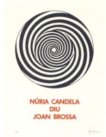 Joan BROSSA | A.L. Núria Candela | Lithograph available for sale on www.kunzt.gallery