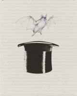 Joan Brossa | Vampir | Lithograph available for sale on www.kunzt.gallery