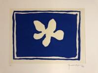 Joan HERNANDEZ PIJUAN | Flor Blava IV | Aquatint available for sale on www.kunzt.gallery