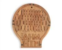 Joe TILSON | Demeter | Wood available for sale on www.kunzt.gallery