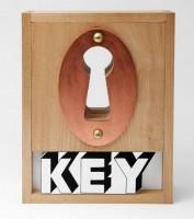 Joe TILSON | Key box | Wood available for sale on www.kunzt.gallery
