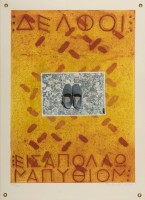 Joe Tilson | Proscinemi, Delphi | Etching and Aquatint available for sale on www.kunzt.gallery