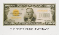 John BALDESSARI | The first $100