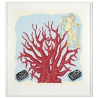 Jorg Immendorf | Glasfenster Energie | Silkscreen available for sale on www.kunzt.gallery