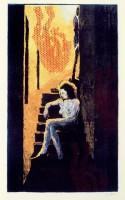 Jorg IMMENDORF | Treppenakt | Silkscreen available for sale on www.kunzt.gallery