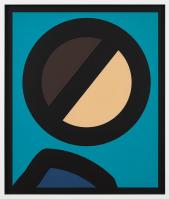 Julian OPIE | Paper head 7 | Laser print available for sale on www.kunzt.gallery