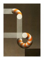 Julio LE PARC | 5 | Lithograph available for sale on www.kunzt.gallery