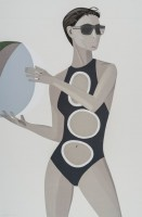 Alex Katz | Chance 1 (Anne) | Silkscreen available for sale on www.kunzt.gallery