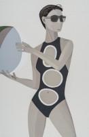 Alex Katz | Chance 1 (Anne) | Silkscreen available for sale on www.kunzt.gallery