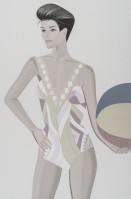 Alex Katz | Chance 3 (Darinka) | Silkscreen available for sale on www.kunzt.gallery