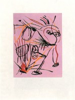 Karel APPEL | Como el Viento | Etching and Aquatint available for sale on www.kunzt.gallery