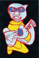 Karel Appel | Kool luke singing hands | undefined available for sale on www.kunzt.gallery
