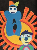 Karel Appel | Sun of the incas | undefined available for sale on www.kunzt.gallery
