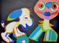 Karel Appel | Circus suite, no. 18 | undefined available for sale on www.kunzt.gallery 2