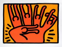 Keith HARING | Pop shop VI | Screen-print available for sale on www.kunzt.gallery