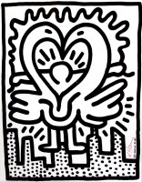 Keith Haring | The Kutztown Connection | Offset Print available for sale on www.kunzt.gallery