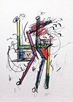 Keith SONNIER | Untitled | Lithograph available for sale on www.kunzt.gallery