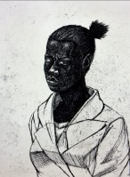 Kerry James MARSHALL | Woman | Etching and Aquatint available for sale on www.kunzt.gallery