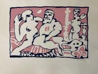 LUCEBERT | Die Olympiker | Silkscreen available for sale on www.kunzt.gallery