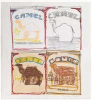 Larry RIVERS | Camel Quartet | Mixed Media available for sale on www.kunzt.gallery