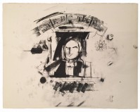 Larry RIVERS | Webster | Lithograph available for sale on www.kunzt.gallery
