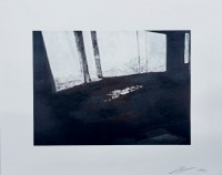 Luc Tuymans | Fenetre | Lithograph available for sale on www.kunzt.gallery
