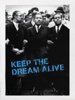 MR BRAINWASH | Keep the Dream Alive | Serigraph available for sale on www.kunzt.gallery
