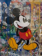Mr Brainwash | Mickey Mouse | undefined available for sale on www.kunzt.gallery