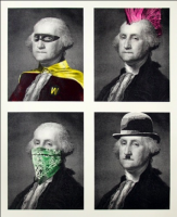 MR BRAINWASH | President's Day | Serigraph available for sale on www.kunzt.gallery