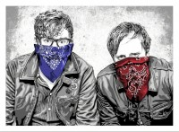 MR BRAINWASH | The Black Keys | Screen-print available for sale on www.kunzt.gallery